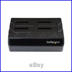 StarTech. Com USB 3.0 to 4-Bay Hard Drive Docking Station with UASP & Dual Fan