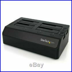 StarTech. Com USB 3.0 to 4-Bay SATA 6Gbps Hard Drive Docking StationDual Fans