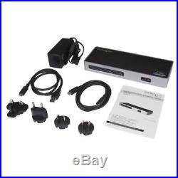StarTech Dual-4K Monitor Docking Station Dual HDMI Dual DP USB C/USB 3.0