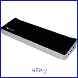 StarTech KVM Docking Station Two Laptops Share Keyboard Mouse MUSB3DDOCKFT