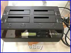 StarTech USB 3.0 To 4-Bay SATA 6Gbps Hard Drive Docking Station with UASP SDOCK4U3