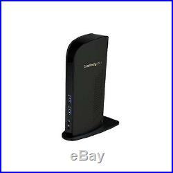 StarTech Universal USB 3.0 Laptop Docking Station-Dual Video HDMI DVI NEW
