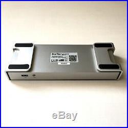 StarTech hub Thunderbolt 2 to 4K HDMI, USB 3.0, Gigabit Ethernet, eSATA