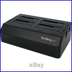 Startech. Com Usb 3.0 To 4-bay Sata 6gbps Hard Drive Docking Station With Uasp &