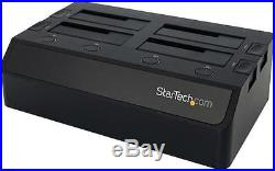 Startech Usb 3.0 To 4-bay 2.5/3.5 Sata 6gb/s Hdd/ssd Docking Station Dual Fans