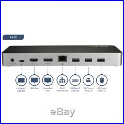 Startech Usb-C Dual 4K Monitor Docking Station Dp / HDMI USB3.0
