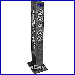 Stereoanlage Dockingstation MP3 USB Musikanlage Stereo Fernbedienung Soundtower