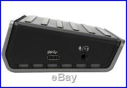 Targus DOCK180EUZ Universal USB-C DV4K Dockingstation mit Stromversorgung