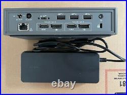 Targus DOCK190 USB-C Universal Dual Video 4K Docking Station 100W
