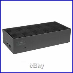 Targus Dock190auz Usb-C 4K Dual Displayport Docking Station With 100W Laptop