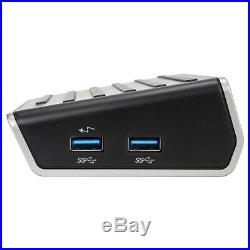 Targus USB 3.0 4K Universal Docking Station, Single 4K or Dual HD Video, DVI, DP
