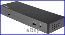 Thunderbolt 3 Dual 4K DisplayPort Docking Station with USB-C for Laptops