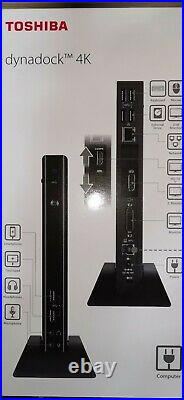 Toshiba Docking Station Dynadock 4K USB 3.0 DisplayPort/HDMI mit 4K