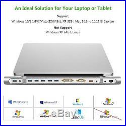 UGREEN USB 3.0 MAC Universal Docking Station To HDMI VGA USBs DVI SD Ethernet