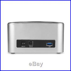USB 3.0 2.5 3.5 SATA HUB Hard Disk Drive Dock HDD Docking Station Card Reader UK