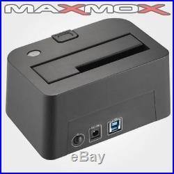 USB 3.0 Docking Station SATA Festplatten HDD SSD Dock 6,4cm (2,5), 8,9cm (3,5)