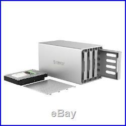 USB 3.0 & Raid ORICO Aluminium 4 Bay 3.5 SATA III HDD Docking Station 6 Gbps