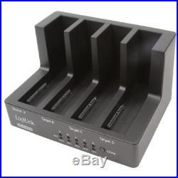 USB 3.0 eSATA Festplatten SATA Docking & Copy Station für 4 Festplatten