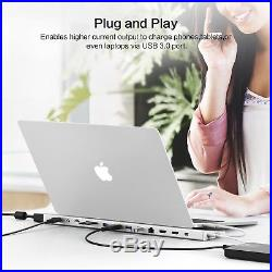 USB C Dock, UCOUSO 14-in-1 USB C Docking Station with Type C Port, 2 HDMI Port