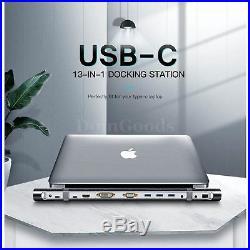 Ugreen All in One Usb c Hub Docking Station Dock Adapter 3.0 Audio Hdmi Lan Sd