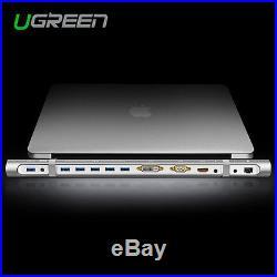 Ugreen Docking Station Hub USB 3.0 avec Adaptateur Ethernet, Câble Adaptateur