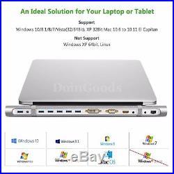 Ugreen Docking Station Laptop Universal Hdmi Usb 3.0 Dock Hub Ethernet Network