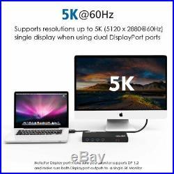 Wavlink Laptop Docking Station USB-C Ultra 5K Dual Video Outputs FAST SHIPPING